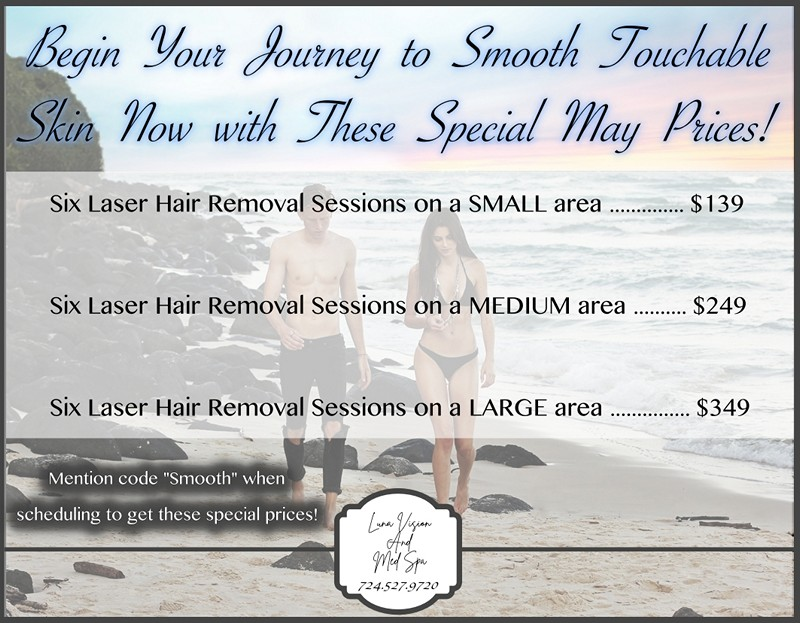 Luna Vision and Med Spa - Laser Hair Removal and Botox in
